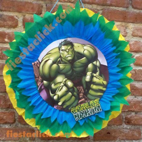 Hulk piñata de listones
